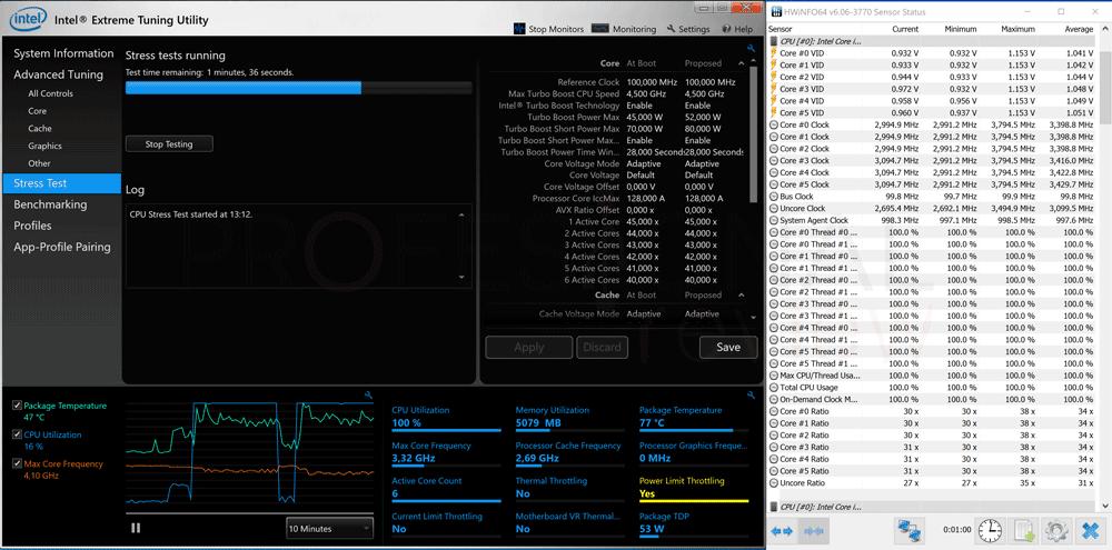 Bajar frecuencia Intel XTU paso 06