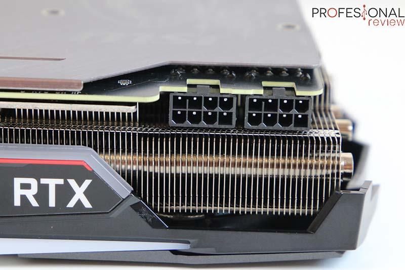 MSI RTX 2070 Super Gaming X Trio alimentación