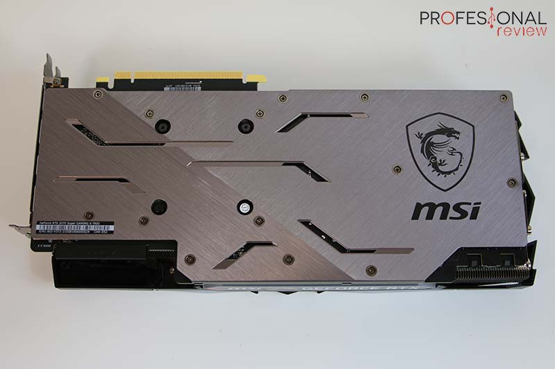 MSI RTX 2070 Super Gaming X Trio backplate