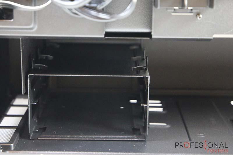 NZXT H510 ELITE almacenamiento
