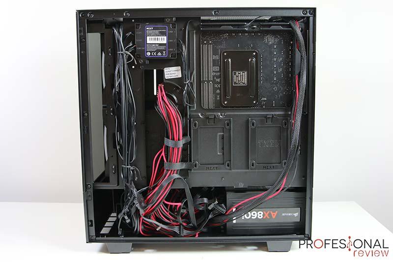 NZXT H510 ELITE montaje