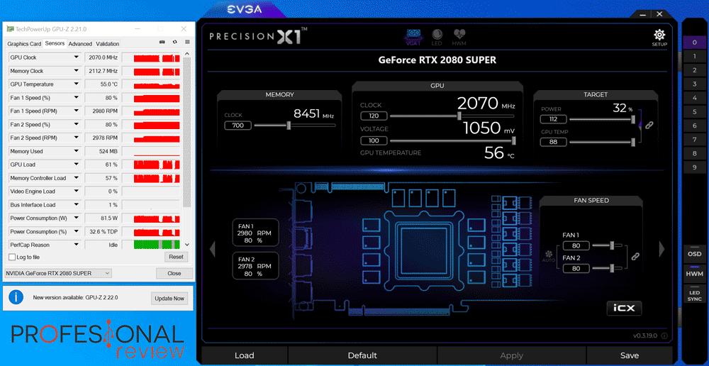 Nvidia RTX 2080 Super Overclocking