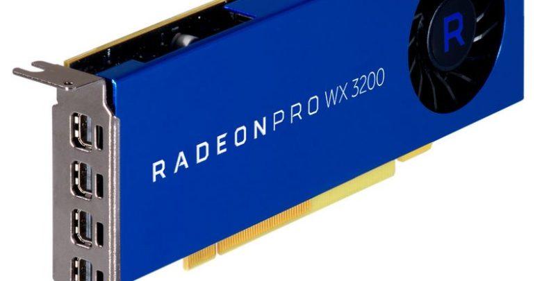 Photo of Radeon Pro WX 3200, la nueva gráfica para estaciones de trabajo de AMD