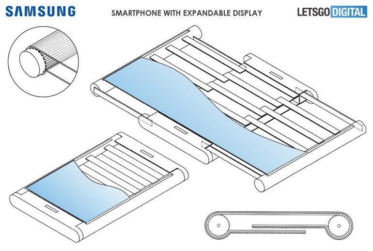 Samsung patente plegable