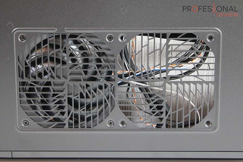 Silverstone RAVEN RVZ03-ARGB ventilación