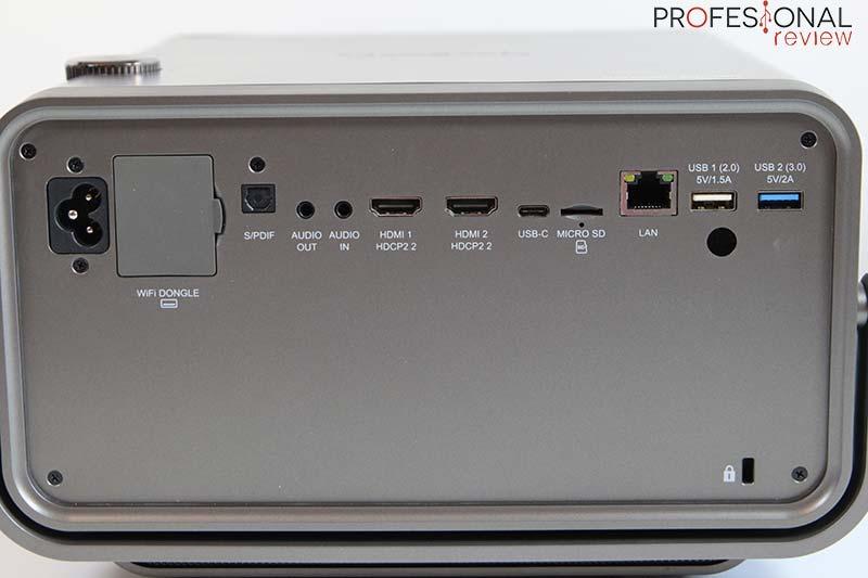 ViewSonic X10-4K puertos