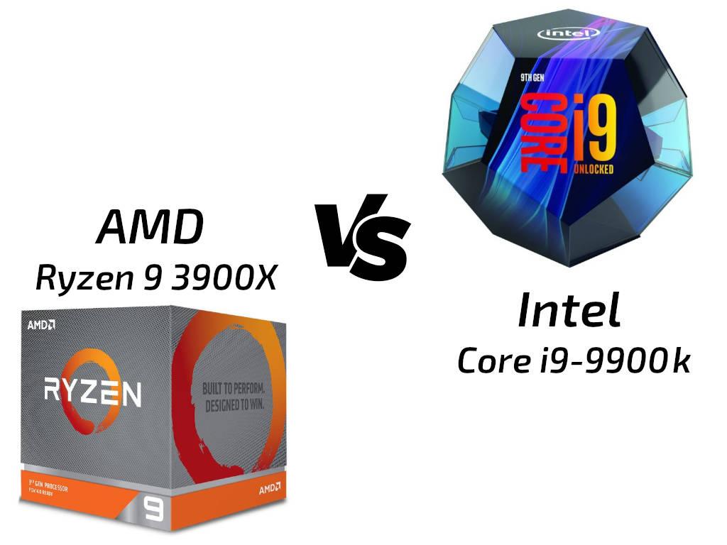 ▷ Ryzen 9 3900X vs Core i9-9900k: el trono de mejor