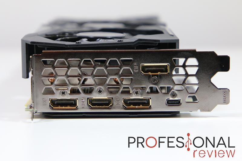 Gigabyte RTX 2070 Super Gaming OC 8 GB puertos