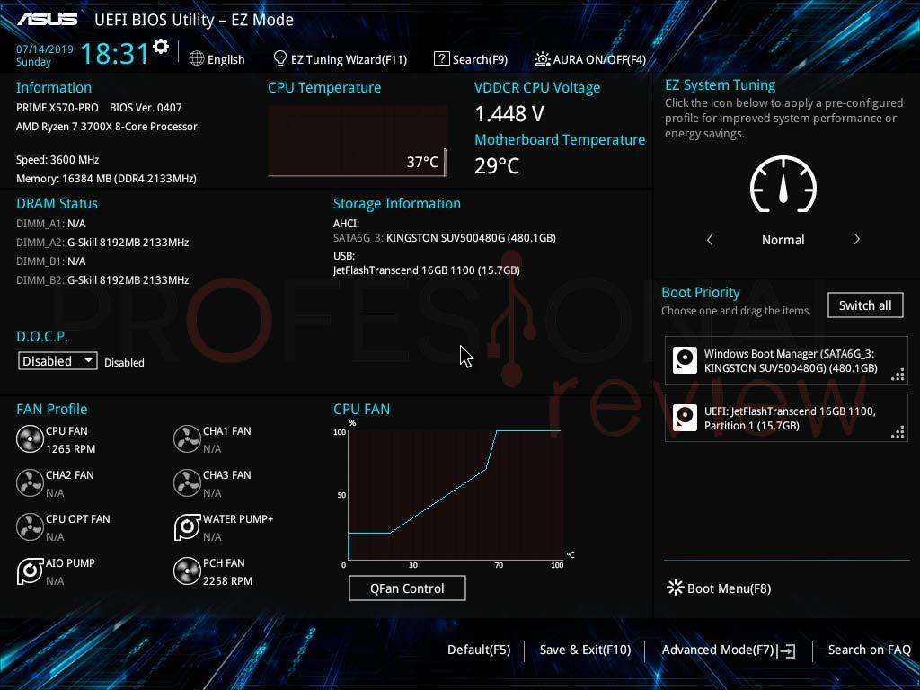 Asus PRIME X570-PRO BIOS
