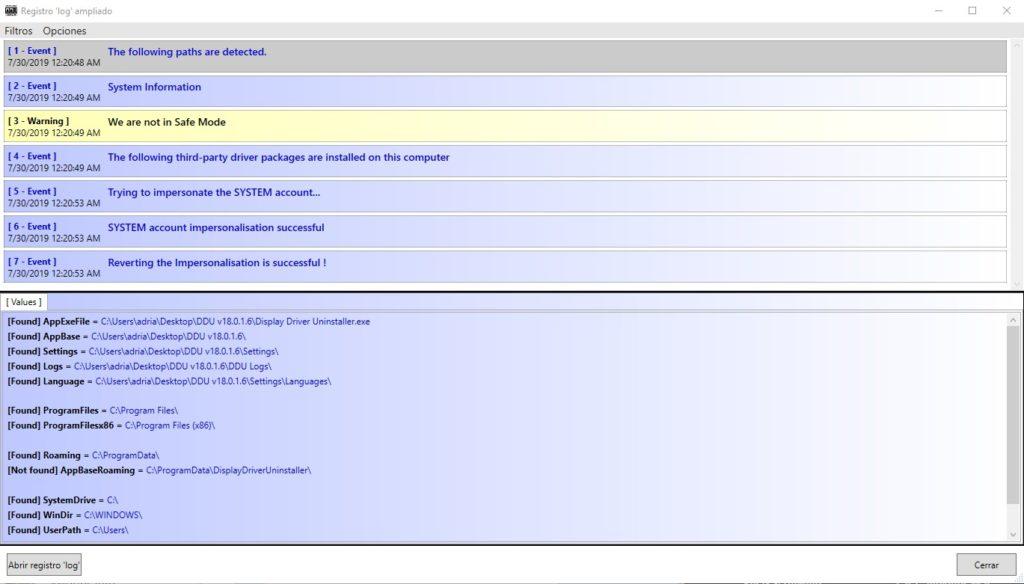 Registro Ampliado DDU