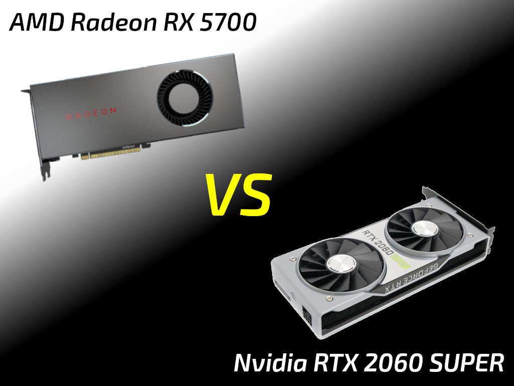 RTX 2060 SUPER vs Radeon RX 5700