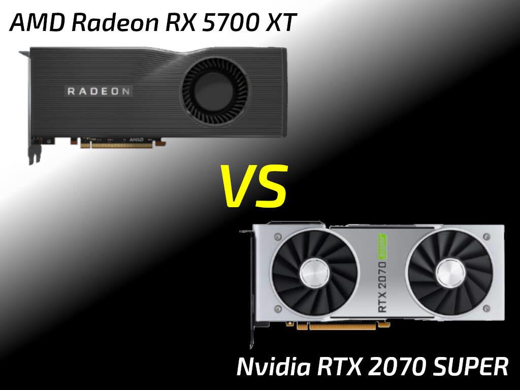 RTX 2070 SUPER vs RX 5700 XT