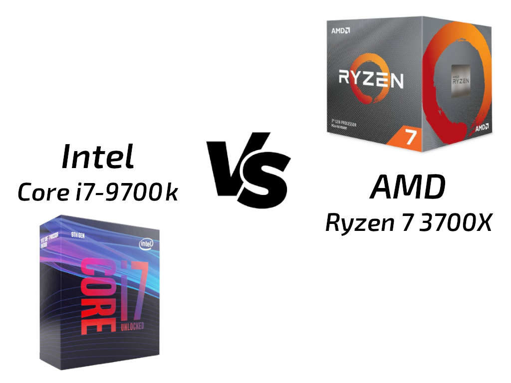 AMD Ryzen 7 3700X vs Core i7-9700k