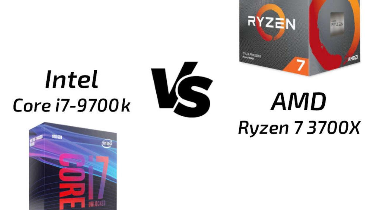 AMD Ryzen 7 3700X vs Core i7-9700k: La batalla del mejor CPU gaming