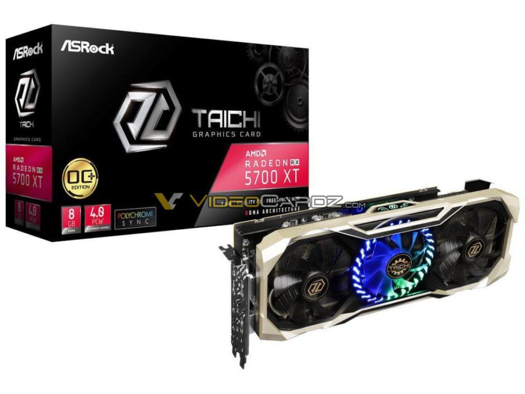 ASRock RX 5700 XT Taichi OC+