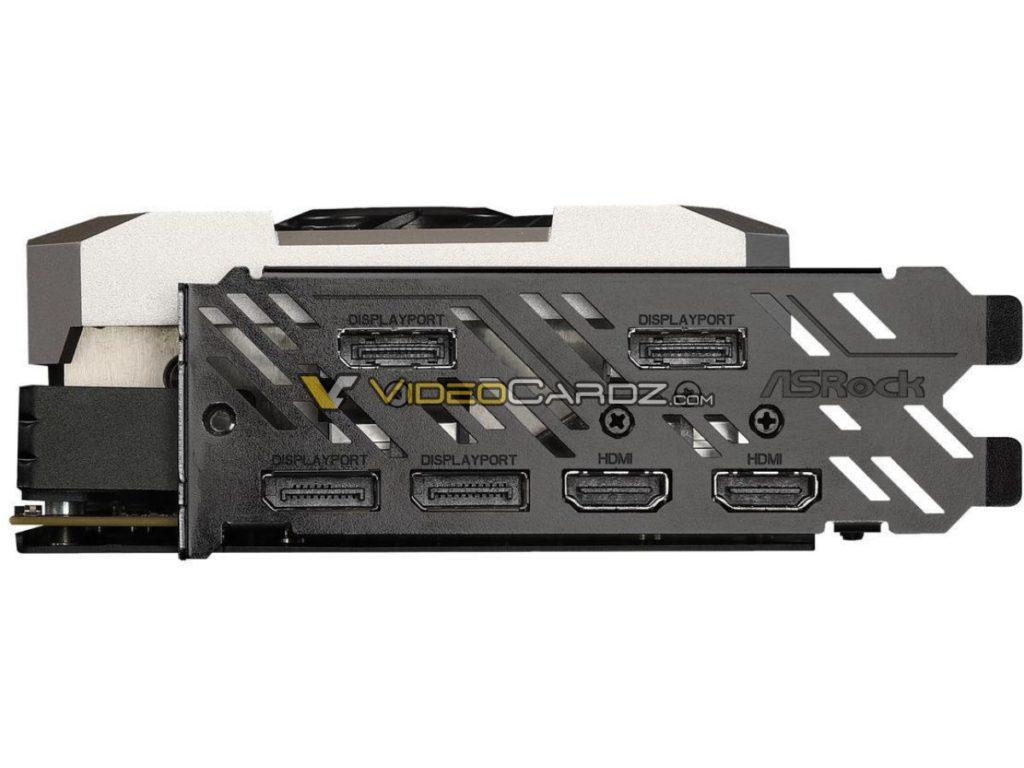 Conectores de la ASRock RX 5700 XT Taichi OC+