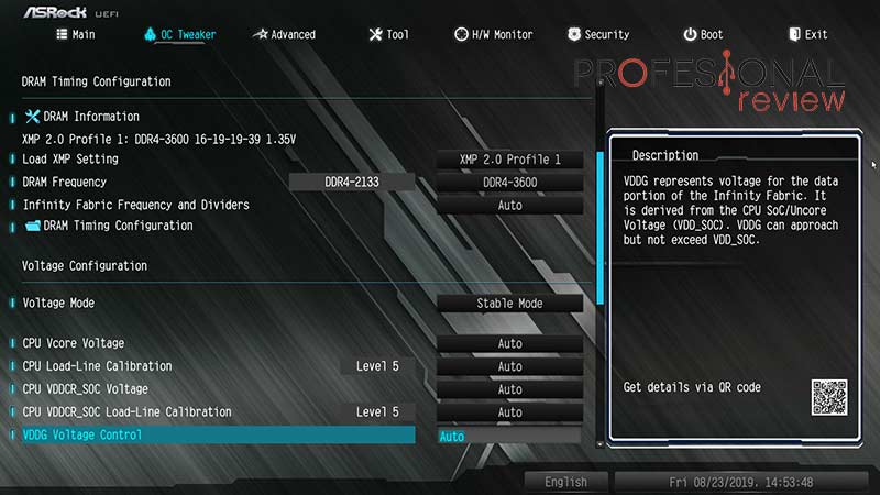 ASRock X570M PRO4 BIOS