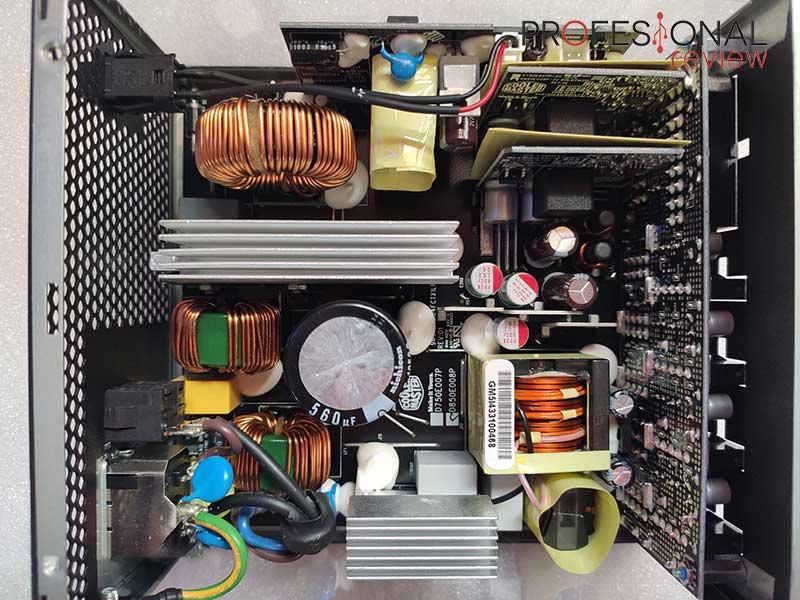 Cooler Master V850 Gold interior