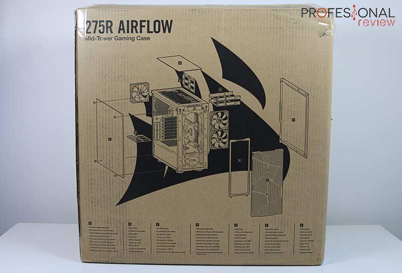 Corsair 275R Airflow Review