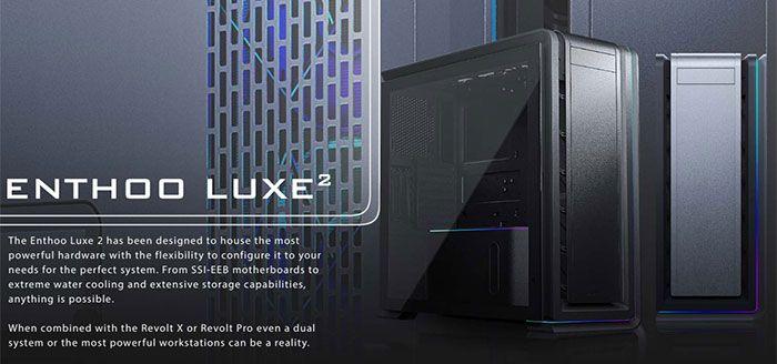 Photo of Enthoo Luxe 2, La nueva caja de Phanteks de doble sistema para PC