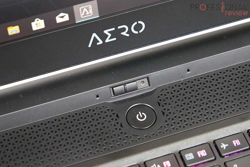 Gigabyte AERO 17 HDR XA Webcam