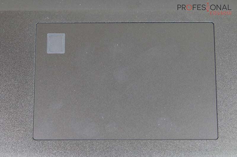 Gigabyte AERO 17 HDR XA Touchpad