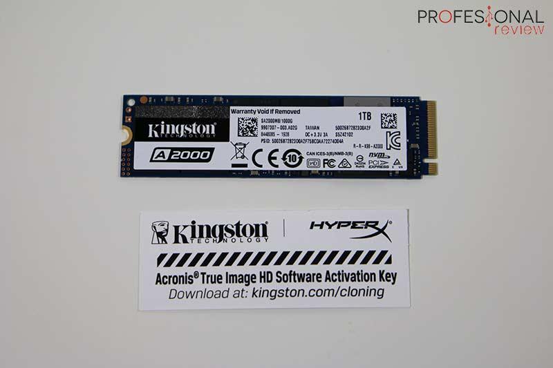 Kingston A2000 1TB Review