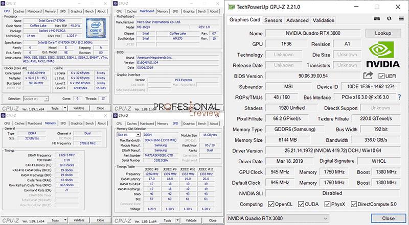 MSI WS65 9TK Review