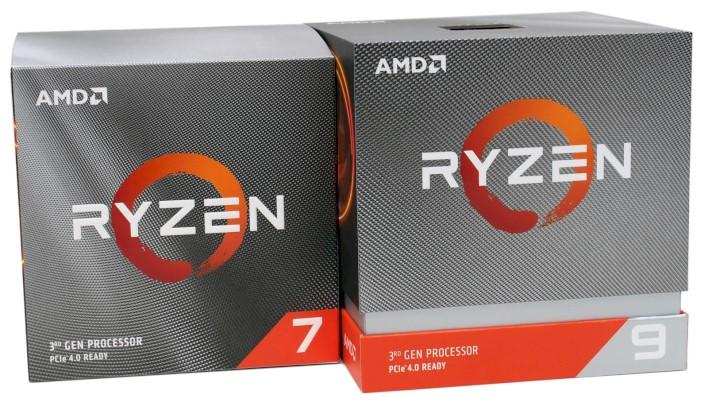 AMD Ryzen 7 3800X vs Ryzen 9 3900X