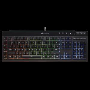 Corsair K 55 teclado gamer