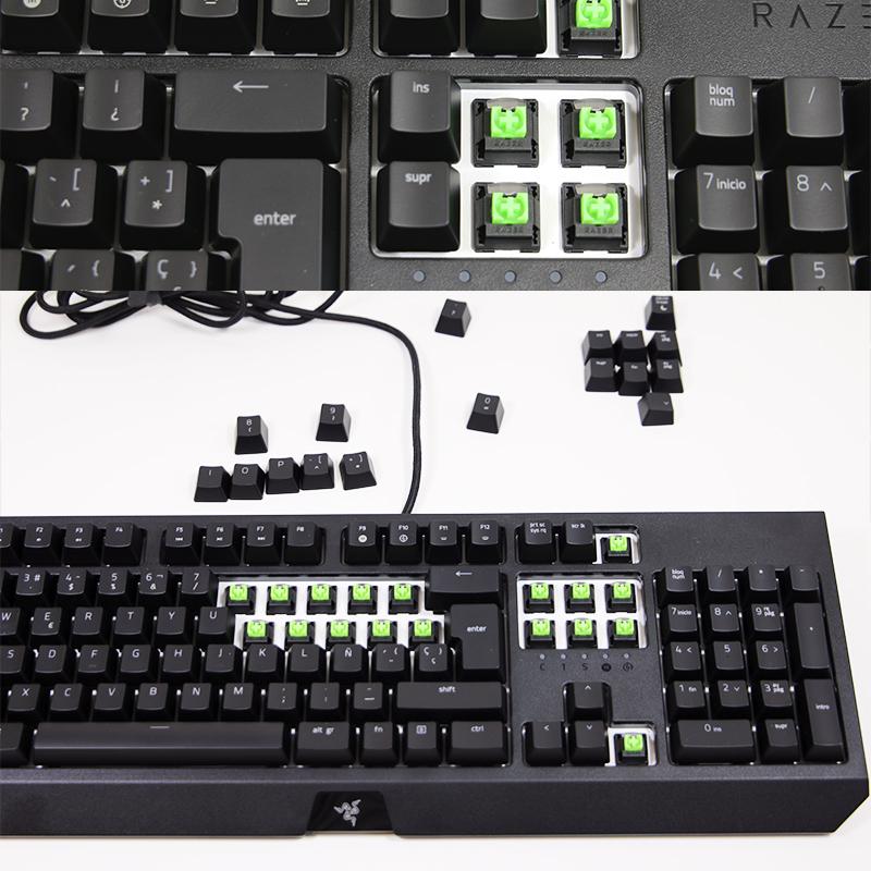 teclado y ratón razer