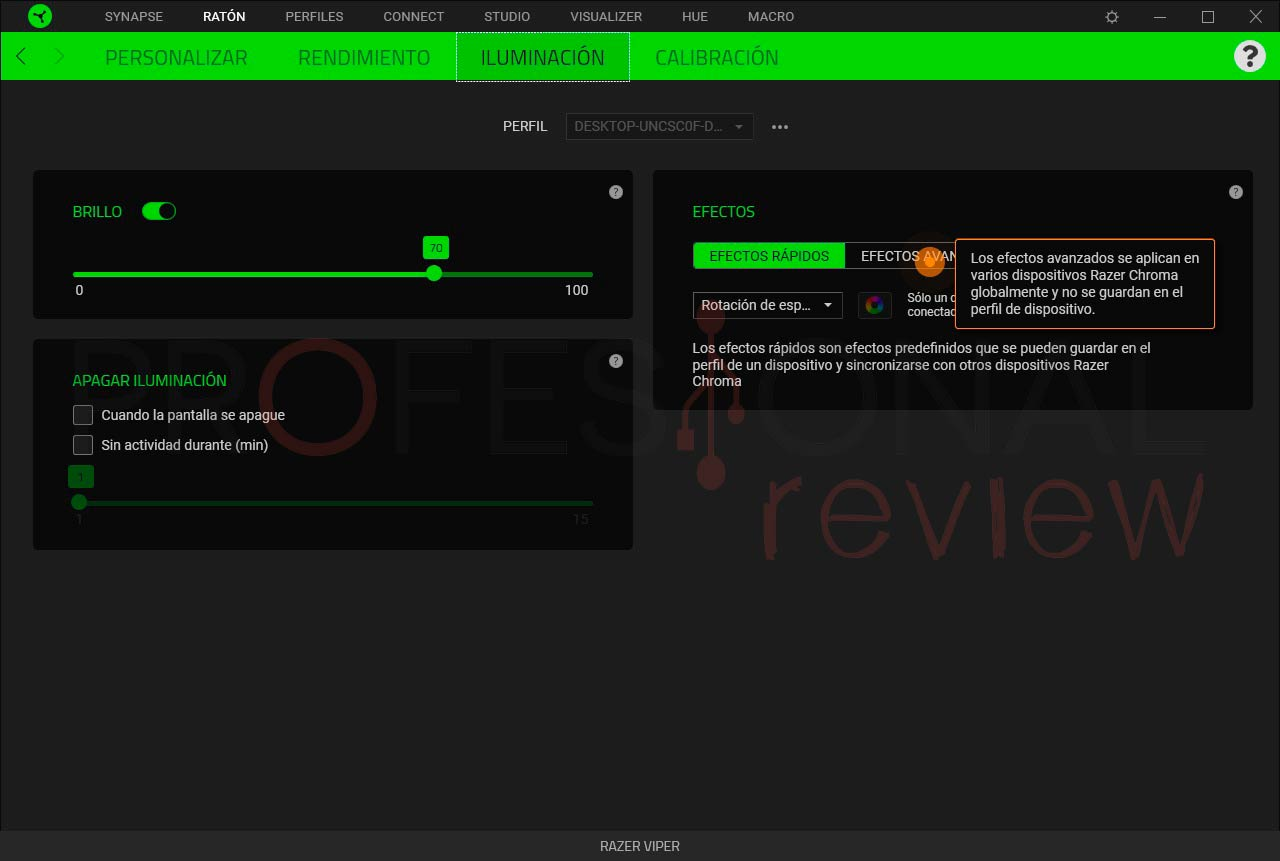 Razer Viper software