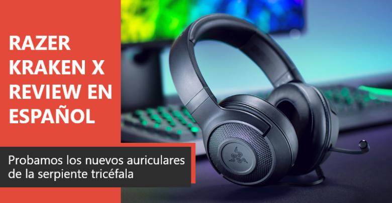 Photo of Razer KRAKEN X Review en Español (Análisis completo)