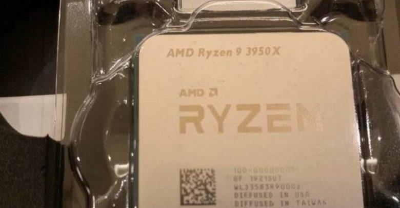 Photo of AMD Ryzen 9 3950X: Suben algunas imágenes de este CPU en Reddit