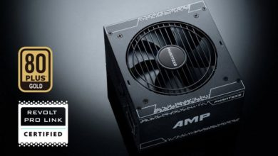 Photo of AMP 80 PLUS Gold, Phanteks anunció sus nuevas fuentes modulares