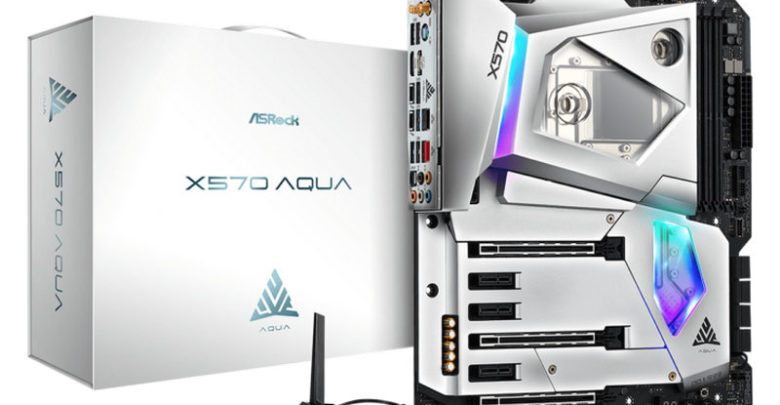 Photo of ASRock X570 Aqua es una obra de arte refrigerada por líquido