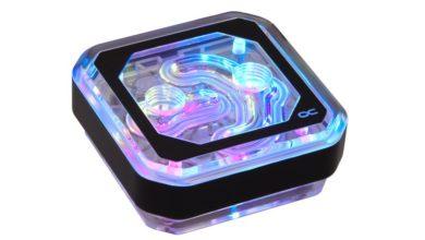 Photo of Alphacool Eisblock XPX Aurora, bloque de agua con plexiglás y ARGB