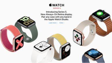 Photo of Apple Watch Series 5: Nuevo reloj con pantalla siempre encendida