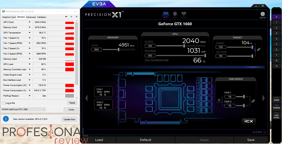 Colorful iGame GTX 1660 Ultra Overclocking