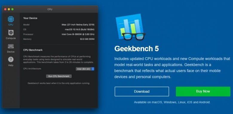 Photo of Geekbench 5, Lanzan nueva version de esta herramienta de benchmark
