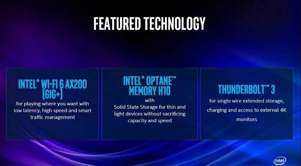 Tecnologías de la 10ª Generación de Intel