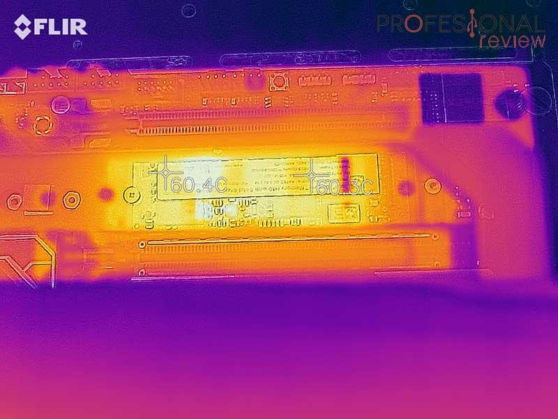 Intel Optane H10 Temperaturas reposo
