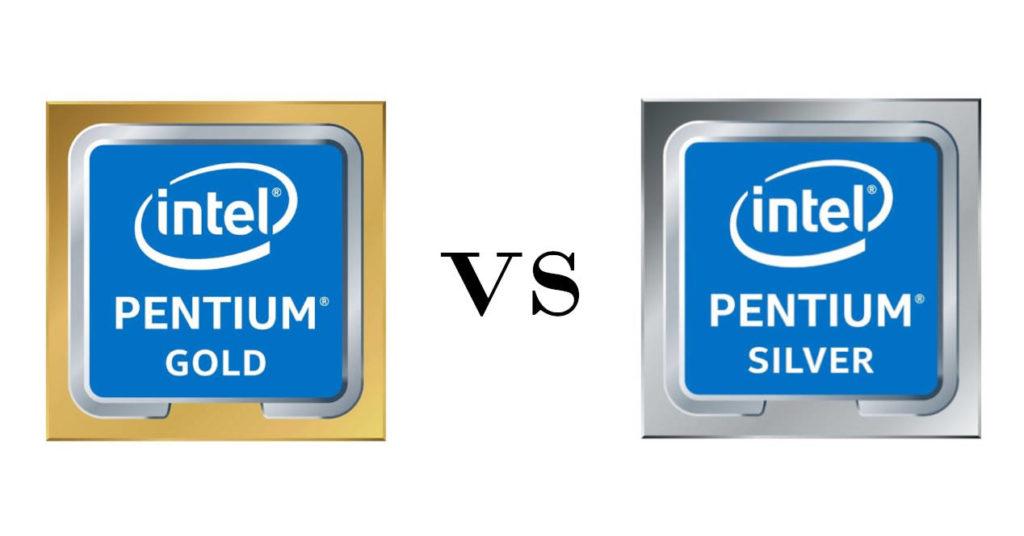 Pentium Gold vs Silver