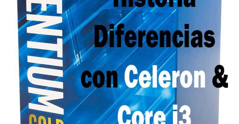 Photo of Intel Pentium – historia y diferencias con Celeron e Intel Core i3