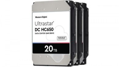 Photo of Western Digital Ultrastar de 20 TB: podría llegar a finales de 2020