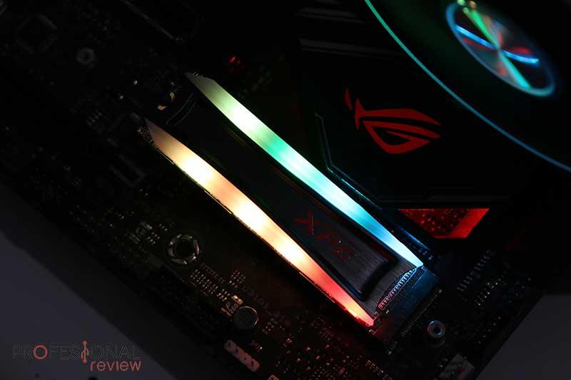 XPG Spectrix S40G Análisis