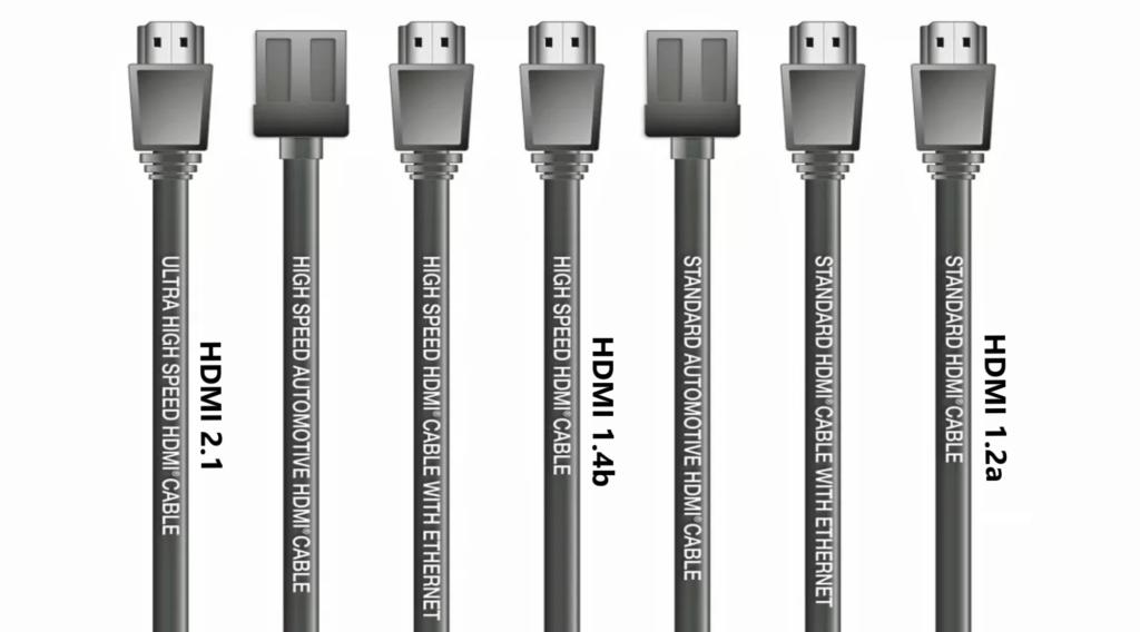 Versión cable HDMI