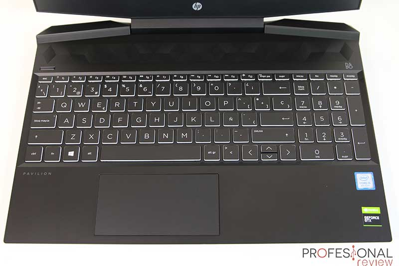 HP Pavilion 15-dk0010ns teclado