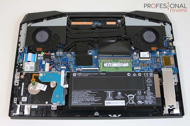 HP Pavilion 15-dk0010ns hardware