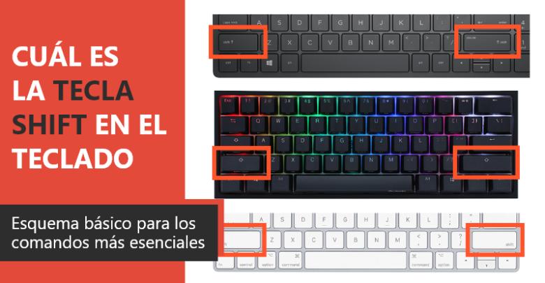 Photo of Cuál es la tecla SHIFT en el teclado